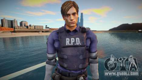 Leon Kennedy From RE2:Remake for GTA San Andreas
