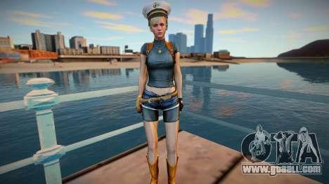 Sherry Birkin skin for GTA San Andreas