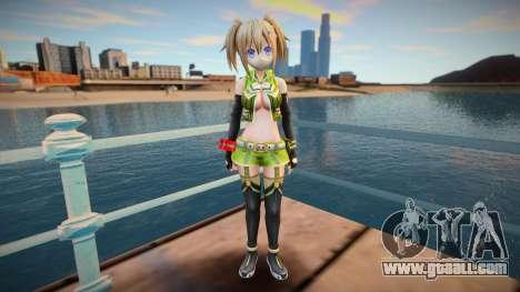 Megadimension Neptunia Collab Makers - GodEat v4 for GTA San Andreas