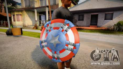 Captains Shield (Modern Soldier) for GTA San Andreas
