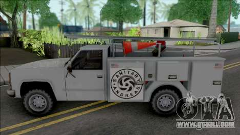 Improved Utility Van for GTA San Andreas
