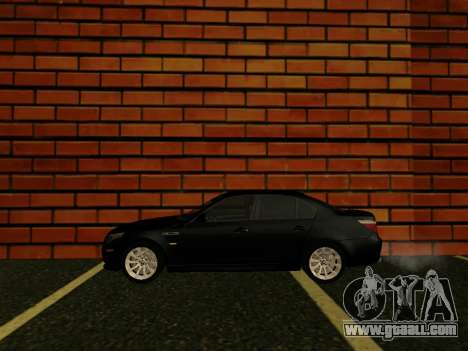 BMW M5 E60 52RUS for GTA San Andreas