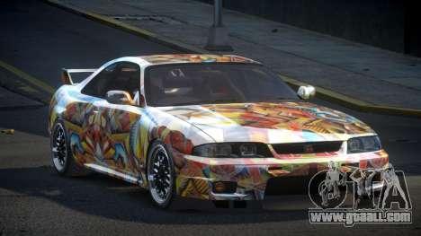 Nissan Skyline R33 US S4 for GTA 4