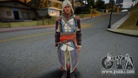 Edward Kenway for GTA San Andreas
