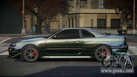 Nissan Skyline R34 PSI-S S5 for GTA 4