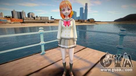 Chika Takami - Love Live Sunshine [Removable] v1 for GTA San Andreas