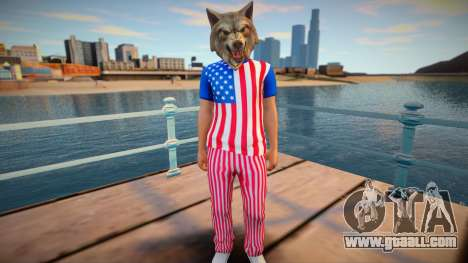 American wolf for GTA San Andreas