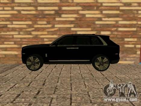 Rolls-Royce Cullinan RUS Plates for GTA San Andreas