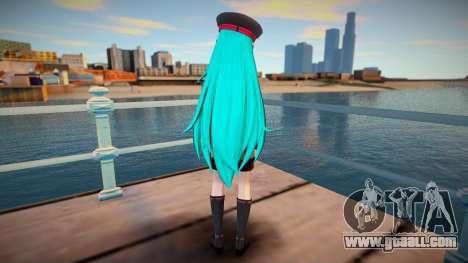 PDFT Hatsune Miku Punk for GTA San Andreas