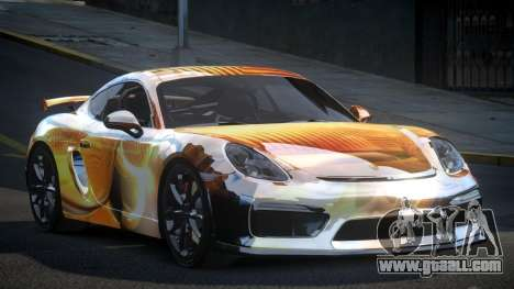 Porsche 718 Cayman GT4 S4 for GTA 4