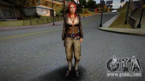 Anne Bonny for GTA San Andreas