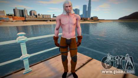 Geralt for GTA San Andreas