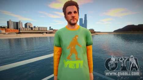 Skin from GTA V v7 for GTA San Andreas