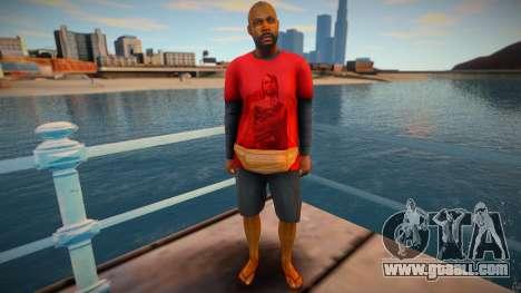 Skin from GTA V v11 for GTA San Andreas
