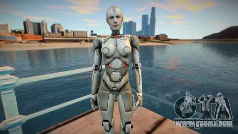 Sara From Shadowgun: Deadzone for GTA San Andreas