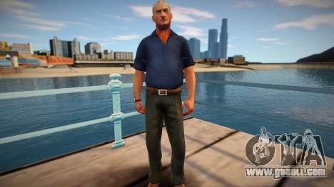 Russian bandit for GTA San Andreas