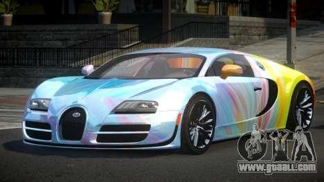 Bugatti Veyron PSI-R S1 for GTA 4