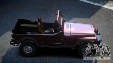 Jeep Wrangler BS for GTA 4