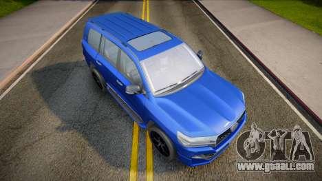 Toyota Land Cruiser 200 2021 for GTA San Andreas