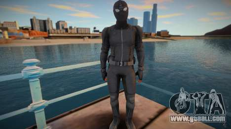 Spiderman Stealth Suit for GTA San Andreas