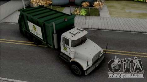 GTA V Brute Tipper Trash for GTA San Andreas