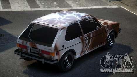 Volkswagen Rabbit GS S2 for GTA 4