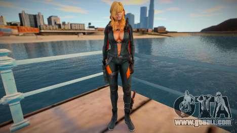 Rachel Foley skin for GTA San Andreas