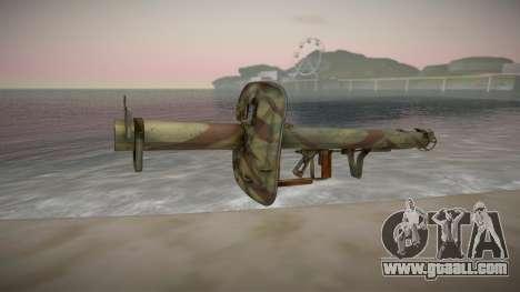 Panzerschreck Anti-Tank Rocket Launcher for GTA San Andreas