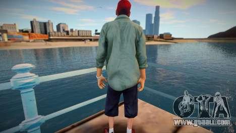 Zero new skin for GTA San Andreas