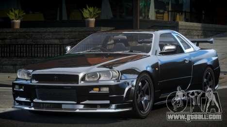 Nissan Skyline R34 PSI-U for GTA 4