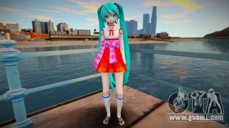 PDFT Hatsune Miku Miko for GTA San Andreas