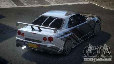Nissan Skyline R34 PSI-S S2 for GTA 4