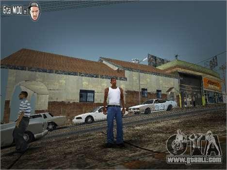 Unreal Texture Mod for GTA San Andreas
