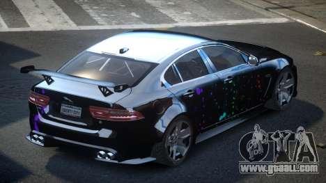 Jaguar XE GST S4 for GTA 4