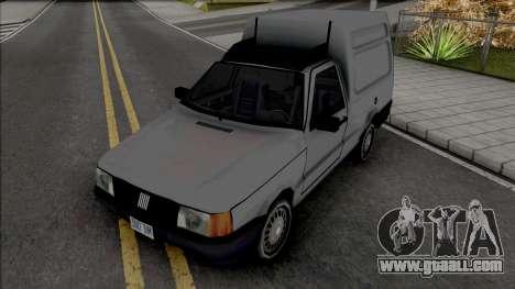 Fiat Fiorino Van [VehFuncs] for GTA San Andreas