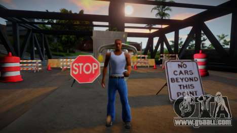 No search for visiting other cities for GTA San Andreas