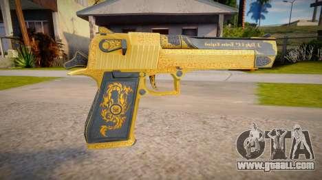 Desert Eagle Mark XIX (good model) for GTA San Andreas