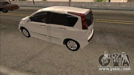 2007 Nissan Note for GTA San Andreas