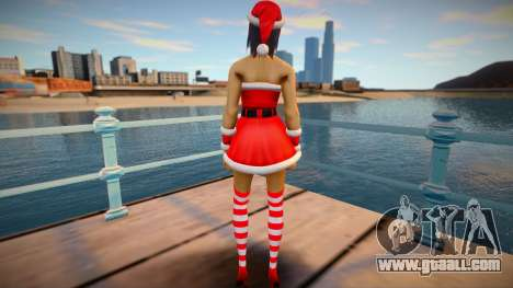 Lara Croft: New Year for GTA San Andreas