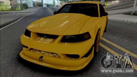 Ford Mustang SVT Cobra R 2000 [IVF ADB VehFuncs] for GTA San Andreas