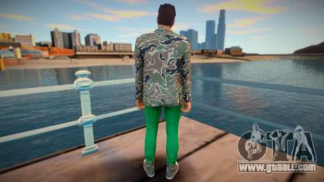 Dude 5 from GTA Online for GTA San Andreas