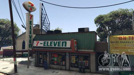 GTA 5 7-Eleven on the Forum Drive
