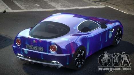 Alfa Romeo 8C US S4 for GTA 4