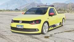 Volkswagen Saveiro CS Surf 2015〡lowered〡add-on for GTA 5