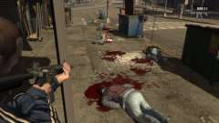 Blood Mod for GTAIV