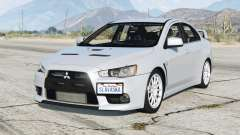 Mitsubishi Lancer Evolution X 2015〡add-on for GTA 5