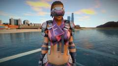 Maven from Ghost in The Shell for GTA San Andreas