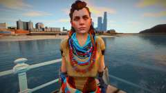 Aloy from Horizon Zero Dawn for GTA San Andreas