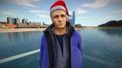 New Year man for GTA San Andreas