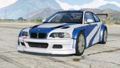 BMW M3 GTR (E46) Most Wanted〡add-on v2.0 for GTA 5